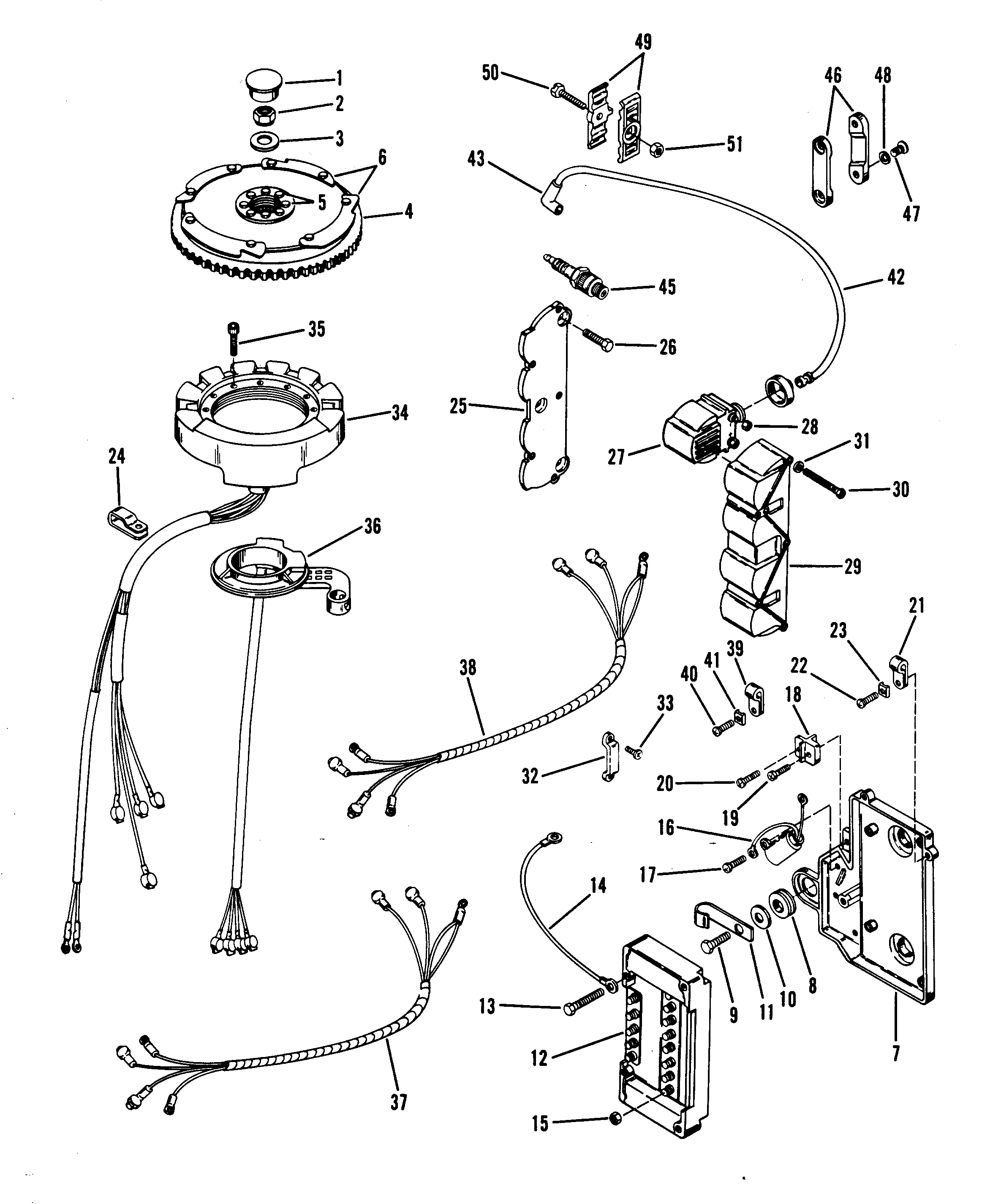 mercury stator wiring diagram wiring diagram and schematic design 1977 mercury 850 outboard wiring diagram diagrams