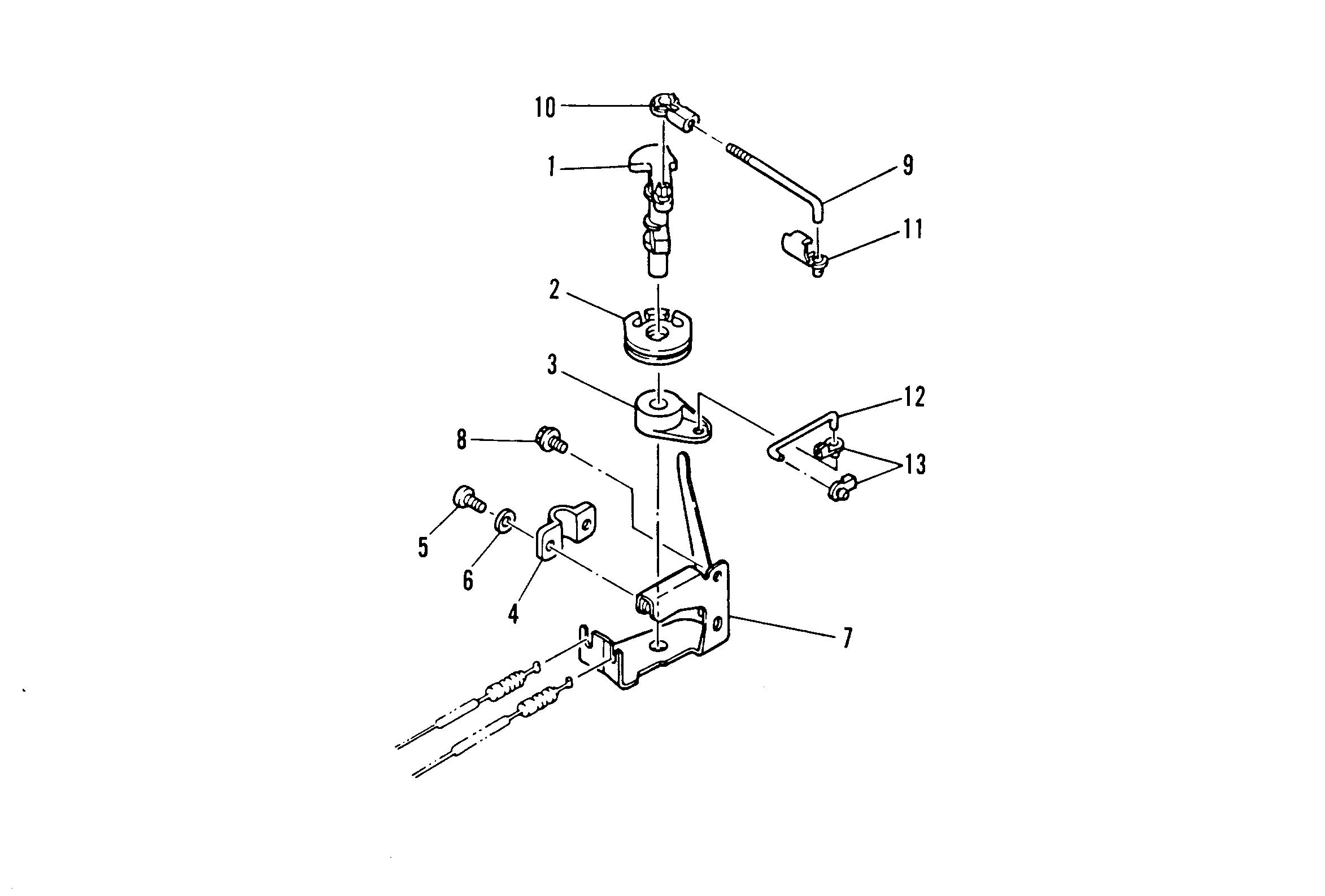 mercury verado throttle control diagram