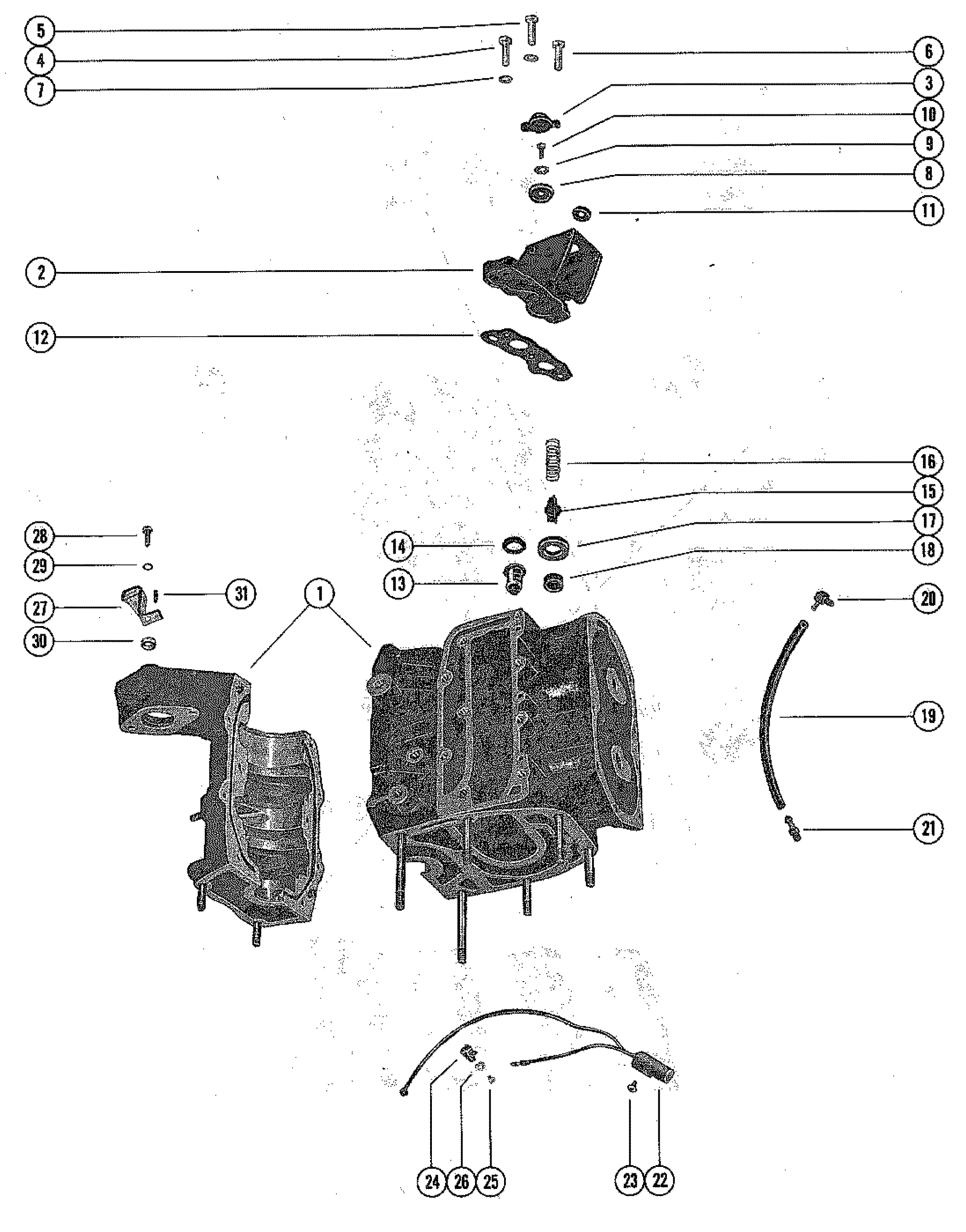 950 mercury wiring harness diagram  mercury  auto wiring