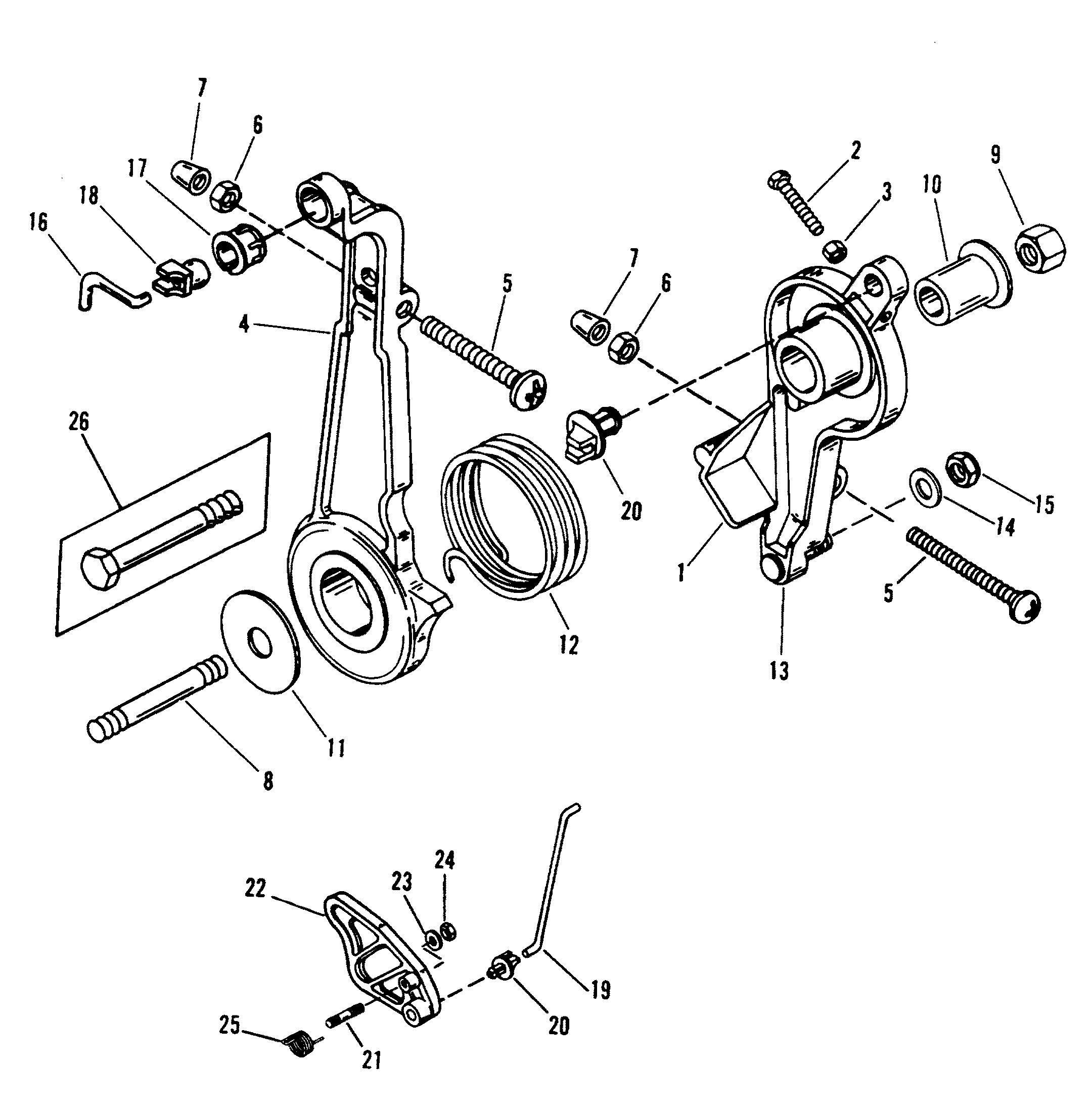 дроссельная заслонка лодочного мотора это