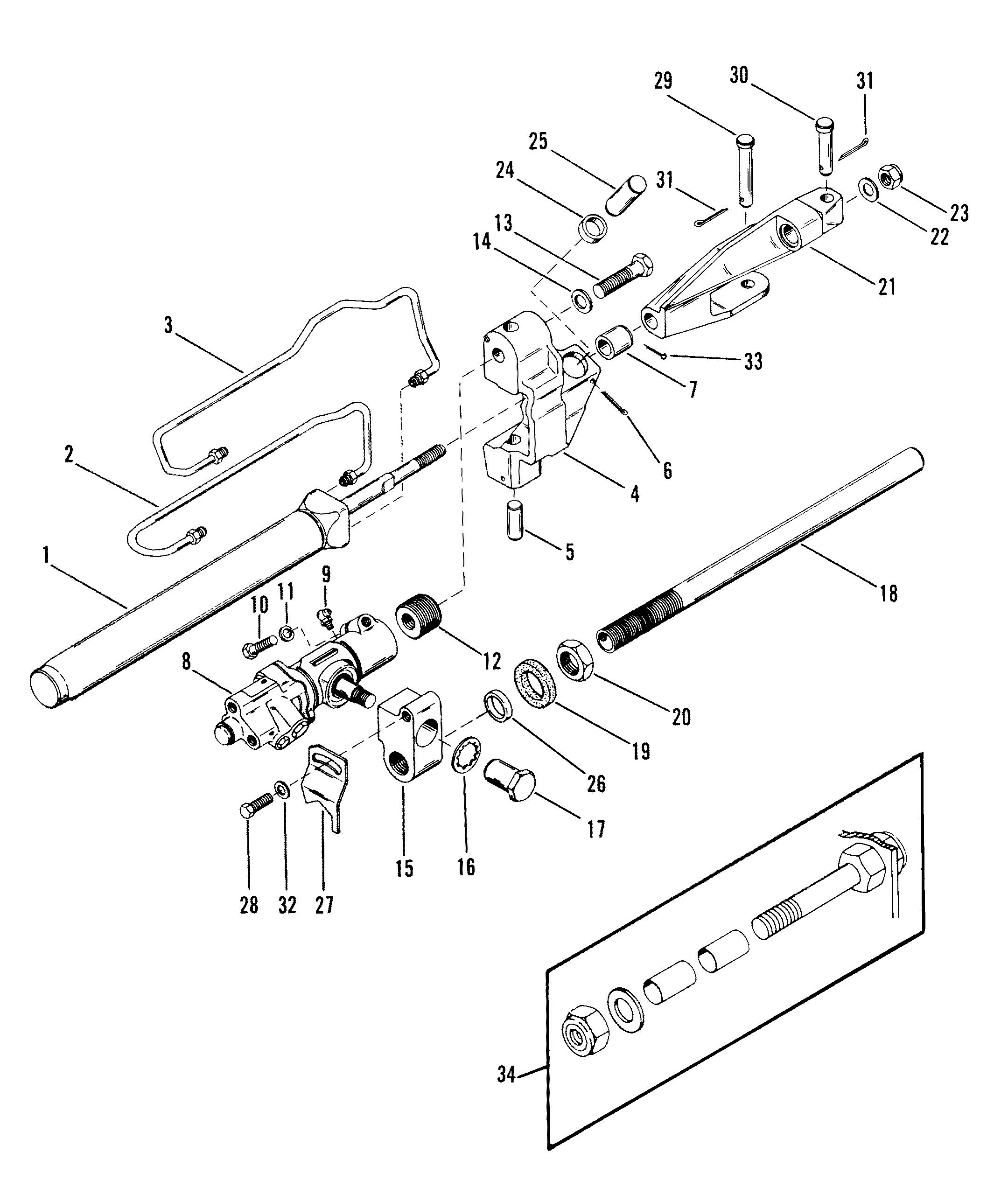 mercruiser remote oil filter installation kit  mercruiser